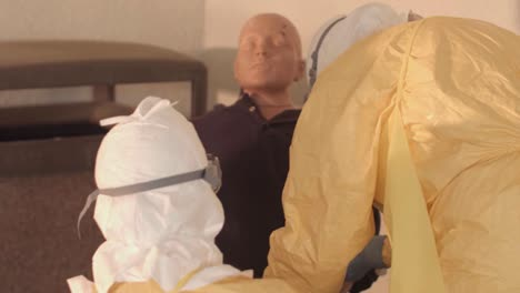 Cdc-Officials-Are-Trained-In-How-To-Cope-With-An-Ebola-Virus-Outbreak-In-Africa-6