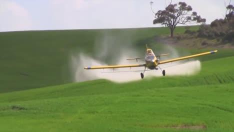 Crop-Duster-Aircraft-In-Action