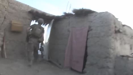Handheld-Footage-Of-An-Ambush-And-Firefight-Between-Taliban-Insurgents-And-Us-Soldiers-In-Afghanistan