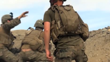 Handheld-Footage-Of-An-Ambush-And-Firefight-Between-Taliban-Insurgents-And-Us-Soldiers-In-Afghanistan-1