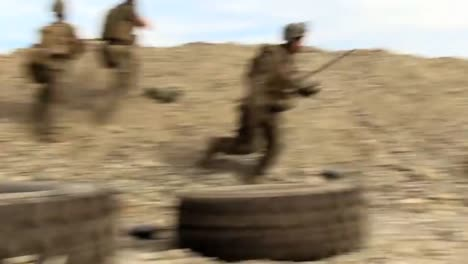 Handheld-Footage-Of-An-Ambush-And-Firefight-Between-Taliban-Insurgents-And-Us-Soldiers-In-Afghanistan-3