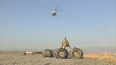 Citical-Replacement-Parts-Are-Airlifted-By-A-Support-Battalion-To-Troops-In-The-Field-In-Afghanistan