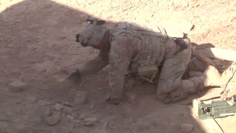 Marines-Go-On-Patrol-In-Kandahar-Province-Afghanistan-And-Uncover-And-Explode-An-Ied-Device-Along-The-Road-2