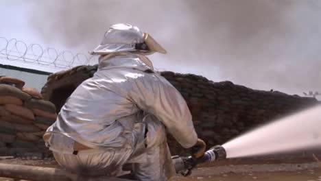 Firefighter-Battles-A-Major-Structural-Blaze-1