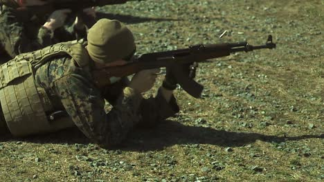 Extreme-Slow-Motion-Shots-Of-Marines-Or-Army-Soldiers-Firing-Their-Guns