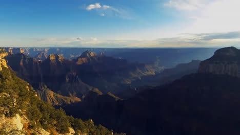 Time-Lapse-Footage-Of-The-Grand-Canyon-From-The-North-Rim