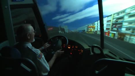 Bus-And-Truck-Drivers-Use-A-Sophisticated-Simulator-To-Learn-To-Drive-Vehicles-Safetly-2