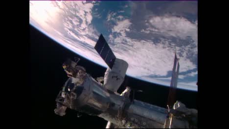 A-Satellite-Floats-High-Above-The-Earths-Surface-3