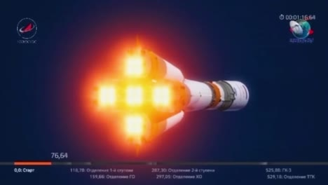 Animated-Film-Describes-Various-Stages-Of-A-Russian-Soyuz-Rocket-In-Flight