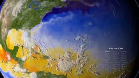 The-Entire-Caribbean-Hurrican-Season-Is-Animated-On-A-Globe-In-2005