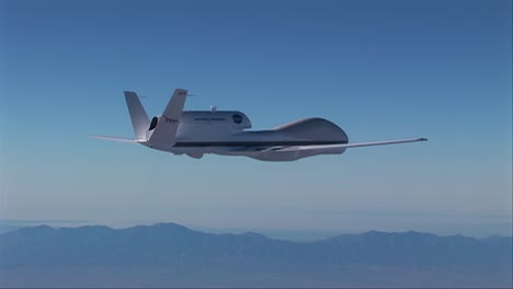 An-Unmanned-Drone-In-Flight