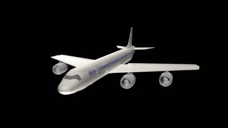 A-Fly-Through-Animation-Of-A-Nasa-Dc8-Aircraft-Specially-Outfitted-For-Monitoring-Sea-Ice-Decline