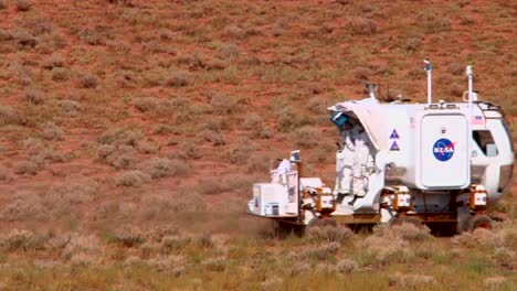 Nasa-Engineers-Test-New-Rovers-And-Lunar-Vehicles-In-The-American-Arizona-Desert