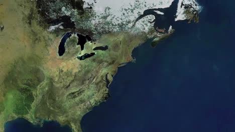 Zoom-En-El-World-Trade-Center-De-Las-Torres-Gemelas-En-La-Ciudad-De-Nueva-York-Antes-Del-11-De-Septiembre-De-2001