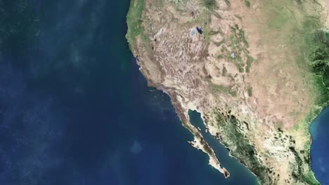 Zoom-Into-The-Queen-Mary-In-Long-Beach-California-From-Outer-Space
