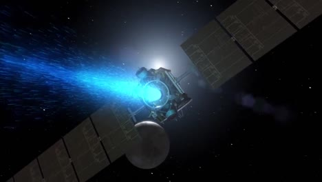 The-Nasa-Dawn-Satellite-Approaches-Ceres-In-This-Animated-Visualization