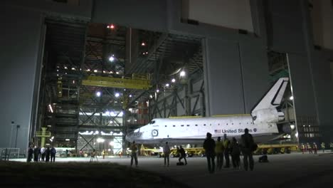 The-Space-Shuttle-Atlantis-Is-Transported-Overland-In-2012