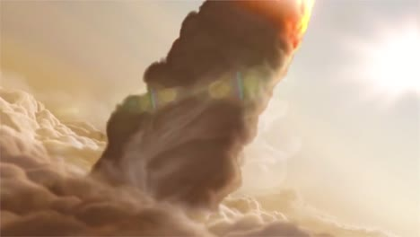 A-Beautiful-Simulated-Rocket-Liftoff-Through-Clouds