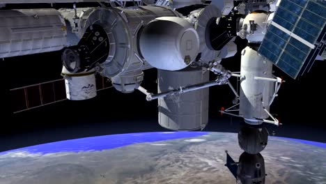 An-Animated-Rendering-Of-A-Test-Expandable-Habitat-On-The-International-Space-Station-1