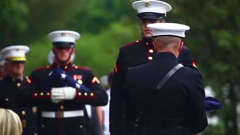 La-Guardia-De-Honor-De-La-Marina-De-Los-EE-