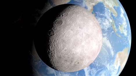 Animated-Nasa-Animation-Of-The-Moon-Against-The-Earth-From-Space