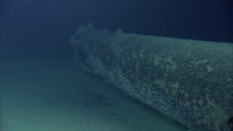 Divers-From-The-Us-Noaa-Organization-Explore-Sunken-Shipwrecks-And-Other-Wreckage-From-World-War-Two-In-The-Pacific
