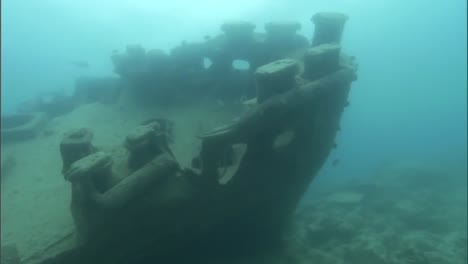 Divers-From-The-Us-Noaa-Organization-Explore-Sunken-Shipwrecks-And-Other-Wreckage-From-World-War-Two-In-The-Pacific-1
