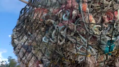 Marine-Scientists-Collect-And-Dispose-Of-Tons-Of-Marine-Debris-And-Fishing-Nets
