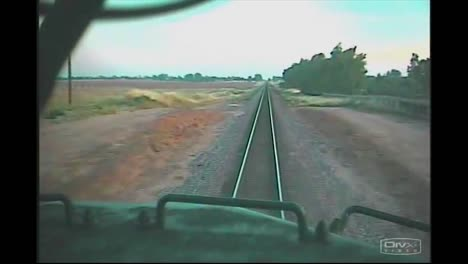 A-Head-On-Collision-Between-Two-Freight-Trains-Is-Captured-From-This-Onboard-Camera