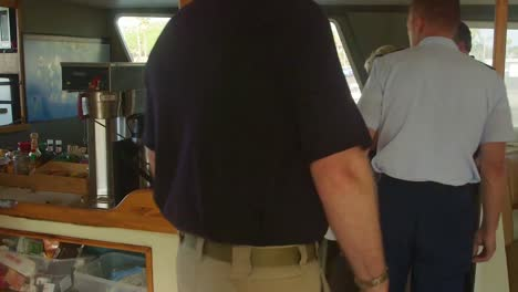 Agents-From-The-Ntsb-Tour-The-Interior-Of-A-Similar-Boat-To-The-Conception-In-Santa-Barbara-Harbor-Following-A-Disastrous-Dive-Boat-Fire-1