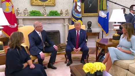 Presidente-Donald-Trump-Y-Melania-Trump-Dan-La-Bienvenida-A-Scott-Morrison-Primer-Ministro-De-Australia-Y-Jenny-Morrison-A-La-Casa-Blanca-En-Una-Visita-De-Estado-1