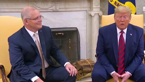 President-Donald-Trump-Remarks-On-The-Whistleblower-Scandal-Involving-Ukraine-And-Joe-Biden-Calls-It-A-Political-Hack-Job