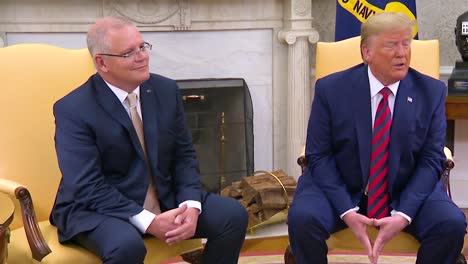 Us-President-Donald-Trump-Sits-With-Australian-Prime-Minister-Scott-Morrison-And-Discusses-How-Easy-It-Would-Be-To-Go-To-War-With-Iran-And-Yet-He-Chooses-Restraint-1