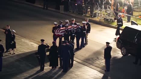 George-Hw-Bush-41St-President-Of-The-United-States-Funeral-Church-Of-St-Martins-Casket-Arrival-1