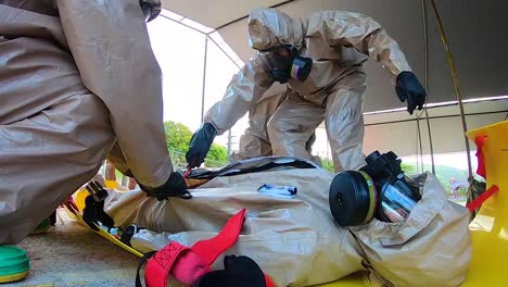 A-Chemical-Spill-Or-Poison-Gas-Attack-Hazmat-Simulation-Is-Conducted-By-Us-Army-Personnel-1