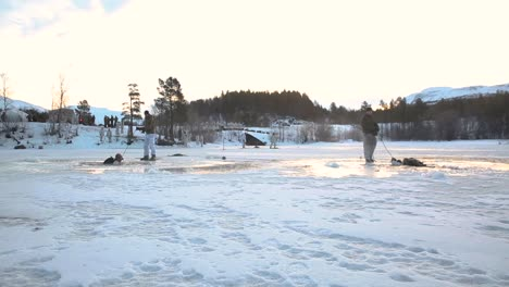 Us-Marines-Conduct-Polar-Icebreaking-Drills-During-Coldweather-Training-In-Setermoen-Norway-And-Fall-Intentionally-Into-Freezing-Cold-Water-2