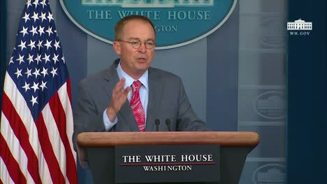 Acting-White-House-Chief-Of-Staff-Mick-Mulvaney-Admits-To-Withholding-Aid-To-Ukraine-At-A-Press-Conference-During-The-Trump-Ukraine-Scandal-2