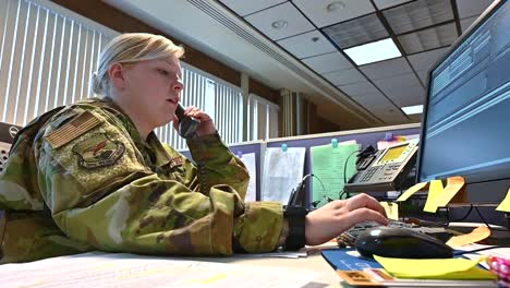 West-Virginia-National-Guard-Answer-Phones-At-A-Call-Center-Dedicated-To-Handling-The-Outbreak-Of-Coronavirus-Covid19-1