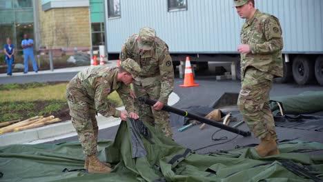 Maryland-Guard-Unit-Setup-Tent-For-Emergency-Triage-Outside-A-Hospital-During-Covid19-Coronavirus-Outbreak-Epidemic