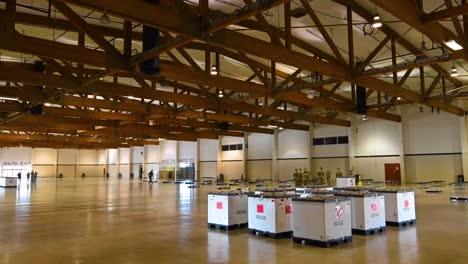 Time-Lapse-Oregon-National-Guard-Soldiers-Assemble-A-Coronavirus-Medical-Ward-N-The-Jackman-Long-Building-At-The-Salem-Fairgrounds