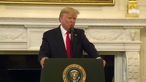 President-Donald-Trump-Says-The-Coronavirus-Covid19-Will-Typically-Go-Away-In-April-With-The-Heat-As-The-Temperature-Warms-Up