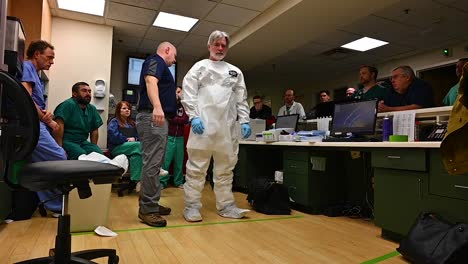National-Guard-Troops-From-West-Virginia-Chemical-Biological-Radiological-Nuclear-And-High-Yield-Explosive-Battalion-Assist-In-Coronavirus-Covid19-Readiness-At-Cabell-Huntington-Hospital-2