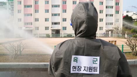 South-Korea-Takes-Aggressive-Action-Against-The-Coronavirus-Covid19-Virus-Pandemic-Outbreak-By-Spraying-Of-Disinfectant-3