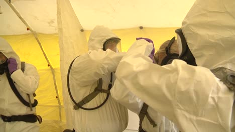 Wisconsin-National-Guard-Soldiers-And-Airmen-Conduct-Training-In-Preparation-For-Possible-Covid19-Corona-Virus-Response