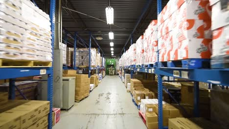 Warehouses-Deliver-Goods-To-Maintain-Supply-Chain-Economics-During-The-Coronavirus-Covid19-Epidemic