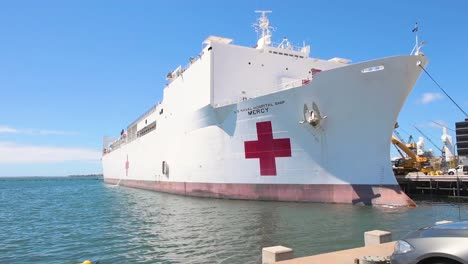 Us-Navy-Hospital-Ship-Mercy-Is-Activated-To-Fight-The-Coronavirus-Covid19-Virus-Outbreak-9