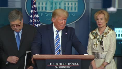 March-23-Corona-Virus-Covid19-Press-Briefing-At-White-House-Includes-President-Donald-Trump-Saying-The-Cure-Cant-Be-Worse-Than-The-Problem