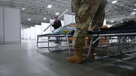 New-Jersey-National-Guard-Soldiers-Assist-With-The-Set-Up-Of-A-Federal-Medical-Station-At-The-Meadowlands-Exposition-Center-During-The-Coronavirus-Covid19-Pandemic-Outbreak-1