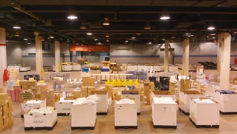 Good-Aerial-Shots-Of-An-Emergency-Hospital-Constructed-At-Mccormick-Convention-Center-In-Chicago-During-Coronavirus-Covid19-Emergency-Outbreak-Epidemic-5
