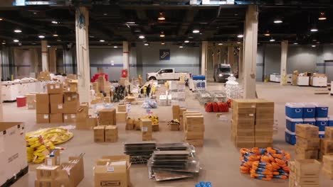 Good-Aerial-Shots-Of-An-Emergency-Hospital-Constructed-At-Mccormick-Convention-Center-In-Chicago-During-Coronavirus-Covid19-Emergency-Outbreak-Epidemic-6